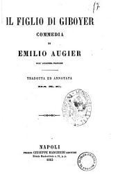 Il figlio di Giboyer commedia di Emilio Augier