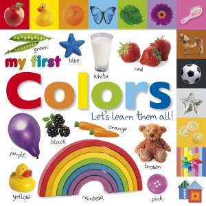 Tabbed Board Books  My First Colors