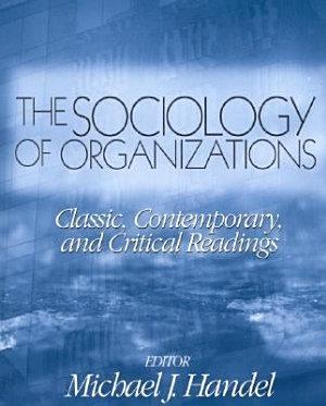 The Sociology of Organizations PDF