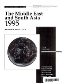 The Middle East and South Asia, 1995
