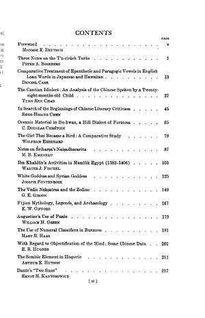 University of California Publications in Semitic Philology