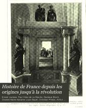 Histoire de France depuis les origines jusqu'à la révolution: ptie. I. Les guerres d'Italie, la France sous Charles VIII, Louis XII et François Ier (1492-1547) par H. Lemonnier