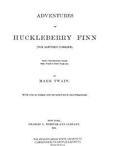 Adventures of Huckleberry Finn  Tom Sawyer s Comrade  Book