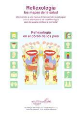 Reflexología en el dorso de los pies: Reflexología los mapas de la salud