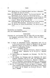 Zeitschrift der Gesellschaft für Erdkunde zu Berlin: Band 3;Band 14