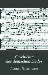 Geschichte des deutschen Liedes