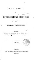 The Journal of Psychological Medicine and Mental Pathology PDF