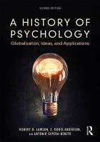A History of Psychology PDF