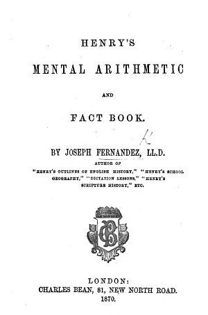 Henry s Mental Arithmetic and Fact Book