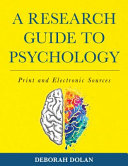A Research Guide to Psychology