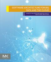 Software Architecture for Big Data and the Cloud PDF