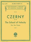School of Velocity, Op. 299