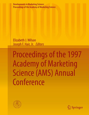 Proceedings of the 1997 Academy of Marketing Science  AMS  Annual Conference PDF