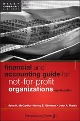 Financial And Accounting Guide For Not For Profit Organizations Book PDF