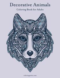 Decorative Animals Coloring Book For Adults 1