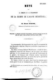 Note sur la floration et le développement de la hampe de l'Agave densiflora