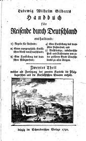 Handbuch für Reisende durch Deutschland: nebst einer Postkarte, Band 2