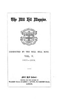 The Mill Hill magazine  conducted by the Mill Hill boys PDF