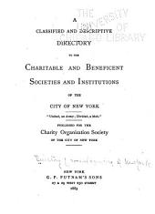 Directory of Social and Health Agencies of New York City: Volume 1
