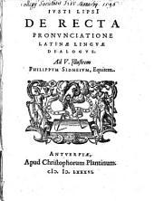 De recta pronunciatione latinae linguae dialogus
