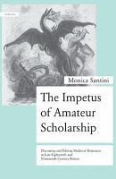 The Impetus of Amateur Scholarship PDF