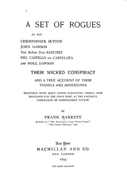 Download A Set of Rogues Book