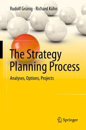 The Strategy Planning Process: Analyses, Options, Projects