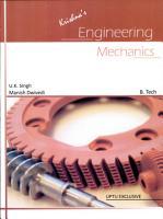 Krishna s Engineering Mechanics PDF
