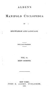 Alden's Manifold Cyclopedia of Knowledge and Language: Volume 11
