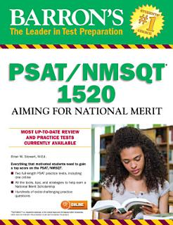 Barron s PSAT NMSQT 1520  Aiming for National Merit Book