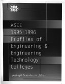 ASEE 1995-1996 Profiles of Engineering & Engineering Technology Colleges