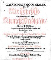 Conciones encoeniales  das ist  Kirchweyhe  oder     KirmessPredigten        uber das ordentliche Evangelium Luc  19     vers  1  usque ad 10   etc PDF