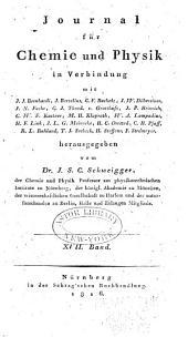 Journal für Chemie und Physik: Band 17