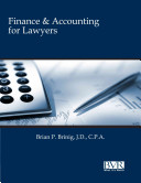 Finance   Accounting for Lawyers PDF