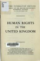 Human Rights in the United Kingdom PDF