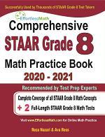 Comprehensive STAAR Grade 8 Math Practice Book 2020 - 2021
