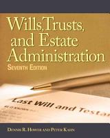 Wills  Trusts  and Estates Administration PDF