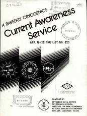 A Biweekly Cryogenics Current Awareness Service PDF