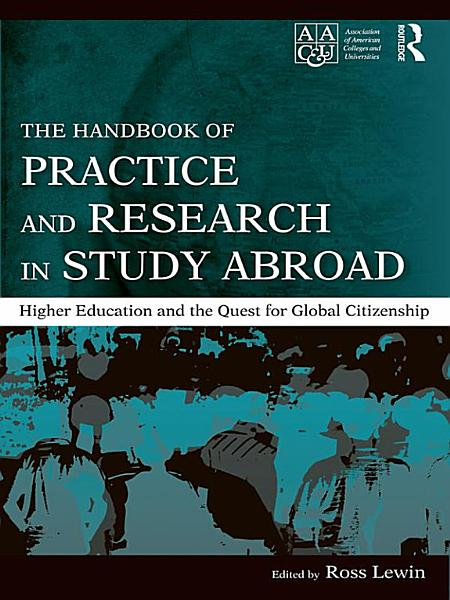 The Handbook of Practice and Research in Study Abroad PDF