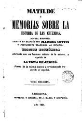 La Matilde ó Memorias de la historia de las Cruzadas, 2