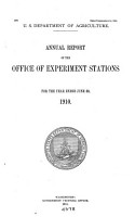 Report on the Agricultural Experiment Stations PDF