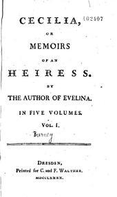 Cecilia Or Memoirs of an Heiress... Fanny Burnet