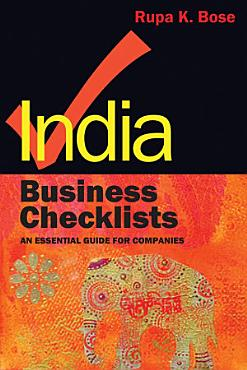 India Business Checklists PDF