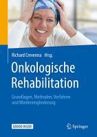 Onkologische Rehabilitation PDF