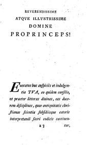 Hexaplorum Origenis quae supersunt auctiora et emendatiora quam a Flaminio Nobilio, Joanne Drusio, et tandem a Bernardo de Montfaucon, concinnata fuerant: Volume 1