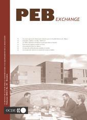 La revista de la OCDE para la construcción y el equipamiento de la educación PEB No. 50 - October 2003: PEB No. 50 - October 2003