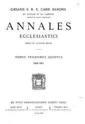 Caesaris S.R.E. Card. Baronii: Volumes 35-37