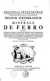 Emanuelis Swedenborgii Opera philisophica et mineralia