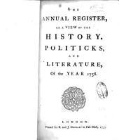Annual Register: Volume 1