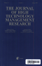 Journal of High Technology Management Research